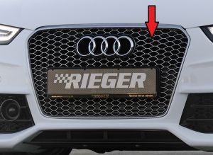 Grill | Audi A5 Cabrio / Coupé / Sportback B8 incl. S-Line/S5/RS5 2011-2016 | stuk  | Rieger Tuning