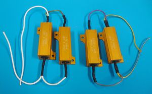 Weerstand voor 55W Lampen | set van 2 stuks
