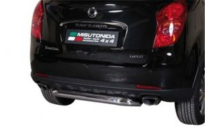 Rear bar Ssangyong Korando 76mm 2011-