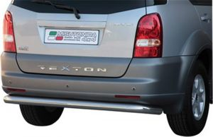 Rear bar Ssangyong Rexton 2 76 mm 2006-  complete