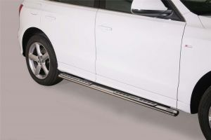 Side Bars | Audi | Q5 08-12 5d suv. / Q5 12-17 5d suv. | RVS