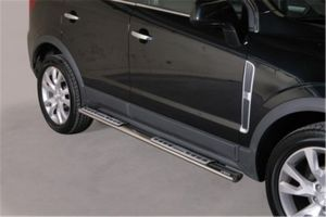 Side Steps / Sidebars | Opel Antara 2011- | RVS