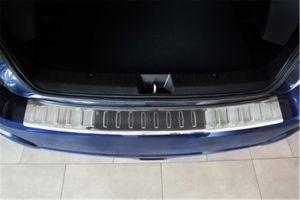 Achterbumperbeschermer | Subaru XV Crossover (5-deurs) 2012- geprofileerd/ribben