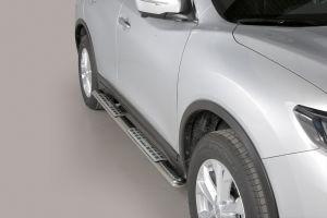 Side Bars | Nissan | X-Trail 14-17 5d suv. / X-Trail 17- 5d suv. | RVS