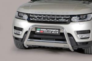 Pushbar / Bullbar | Land Rover Range Rover Sport 2014- | CE-keur | RVS