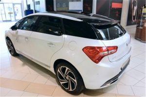 Achterbumperbeschermer | Citroën DS5 2015- | geprofileerd/ribben