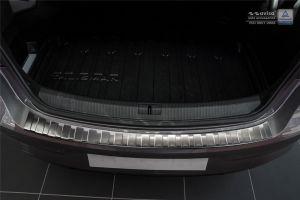 Achterbumperbeschermer | Renault Talisman 2015- | profiled/ribs | RVS