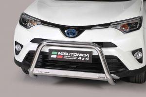 Pushbar / Bullbar | Toyota RAV4 2016- | CE-keur | RVS