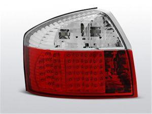 Achterlichten set | Audi A4 8E sedan 2000-2004 | Rood wit met LED