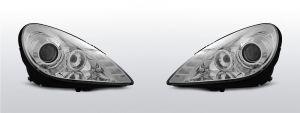 koplampen mercedes r171 slk chroom