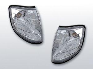voorknipperlichten set voor mercedes s-klasse w140 chroom