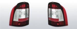 achterlichten ford mondeo rood/wit