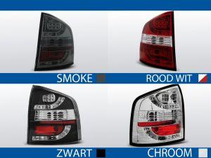 achterlichten skoda octavia 2 rood/wit, smoke, chroom of zwart