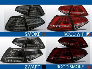 achterlichten volkswagen golf 7 gti,gte,gtd look rood/wit, rood/smoke, smoke of zwart