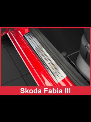Instaplijsten | Skoda Fabia III Hatchback / Combi 2014- | 4-delig