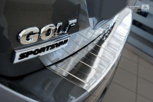 achterbumperbeschermer volkswagen golf sportsvan 2014- rvs van Avisa