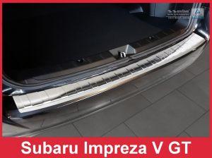 Achterbumperbeschermer | Subaru | Impreza 17- 5d hat. | RVS
