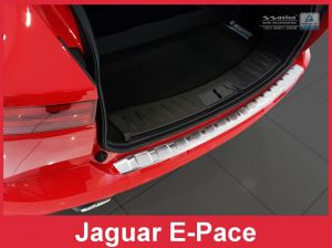 Achterbumperbeschermer | Jaguar | E-Pace 17- 5d suv. | RVS