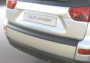 Achterbumper Beschermer | Mitsubishi Outlander 2007-2012 | ABS Kunststof