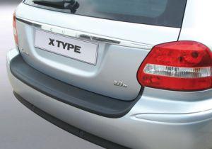 Achterbumper Beschermer   Jaguar X-Type Estate 2007-   ABS Kunststof