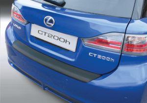 Achterbumper Beschermer | Lexus CT200H 5-deurs 2011-2014 | ABS Kunststof