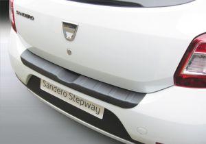 Achterbumper Beschermer | Dacia Sandero/Sandero Stepway 2012- 'Ribbed' | ABS Kunststof