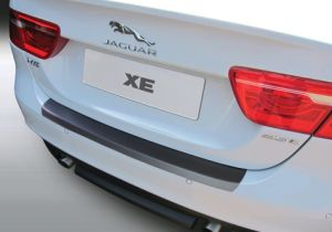 Achterbumper Beschermer   Jaguar XE 2015-   ABS Kunststof