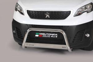 Medium pushbar / bullbar Peugeot Expert CE-keur