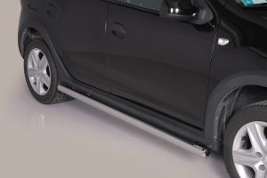 Side Bars | Dacia | Sandero 12-16 5d hat. / Sandero 16- 5d hat. | RVS Stepway