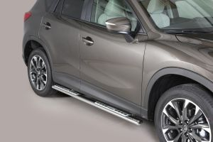 Side Bars   Mazda   CX-5 15-17 5d suv.   RVS