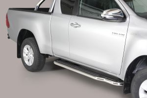 Misutonida Pedana side bars / side steps Toyota Hilux E.C. (50mm)