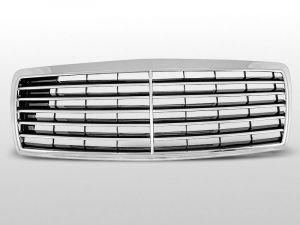 grille set avantgarde mercedes c-klasse w202 abs kunststof chroom