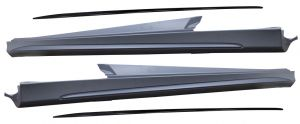 C63 look side skirts voor W205 sedan en stationwagon
