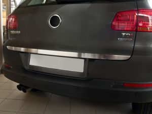 Achterklep sierlijst | Volkswagen Tiguan 2007- | RVS