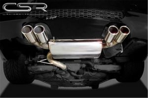 Einddemper voor BMW E90 / E90 LCI HSK086 4 cilinder