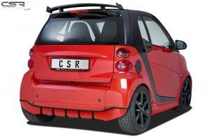 Achteraanzetstuk | Smart | fortwo cabrio 07-10 2d cab. / fortwo cabrio 10-12 2d cab. / fortwo cabrio 12-16 2d cab. / fortwo coupé 07-10 3d hat. / fortwo coupé 10-12 3d hat. / fortwo coupé 12-15 3d hat. | Fiberflex