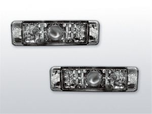 Voorknipperlichten (set) met parking light | Volkswagen Golf 1,2 / Jetta / Polo | chrome