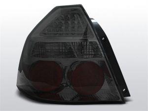 Achterlichten | Chevrolet Aveo T250 Sedan 2006-2010 | LED | smoke