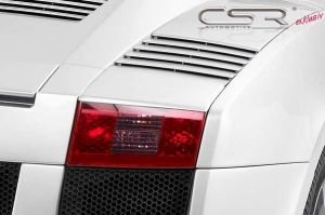 Achterlichtcovers | Lamborghini | Gallardo 03-14 2d cou. | ABS Kunststof