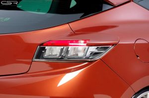 Achterlichtcovers | Renault Megane coupé 2009- | ABS
