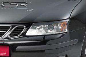 Koplampspoilers Saab 9-3 YS3F Hatchback/Cabrio/Station 02-07