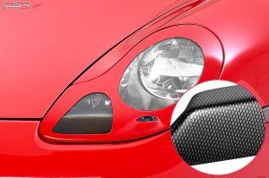 Koplampspoilers | Porsche  Boxster 986 Roadster 1996-2004 | ABS Carbon Look