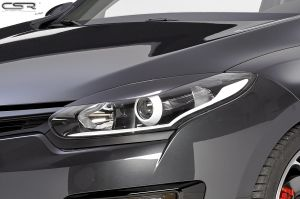 Koplampspoilers | Renault Megane III alle  vanaf 01/2014 | ABS