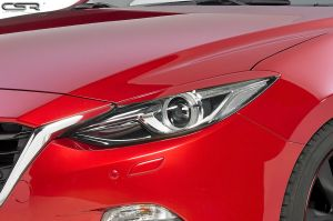 Koplampspoilers | Mazda 3 Typ BM alle vanaf 9/2013 | ABS