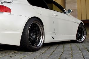 Side skirts | BMW 6-serie E63, E64  2003-2010 | Fiberflex