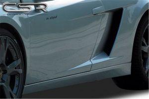 Side skirts voor Lamborghini Gallardo coupé / spyder 2003-