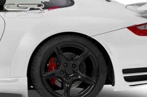 Spatbordverbreders | Porsche | 911 Cabriolet 05-10 2d cab. | achter | Fiberflex