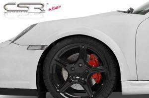 Spatbordverbreders | Porsche | 911 Cabriolet 05-10 2d cab. | Turbo / Turbo S | voor | Fiberflex