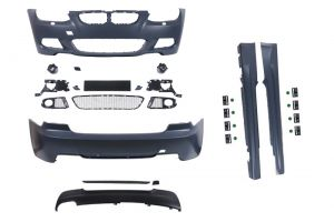 Bodykit | voor M-pakket | BMW 3-serie Coupé E92 LCI / Cabriolet E93 LCI 2010-2013 | ABS Kunststof