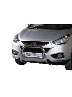 Pushbar / Bullbar   Hyundai IX35 2010-   CE-keur   RVS